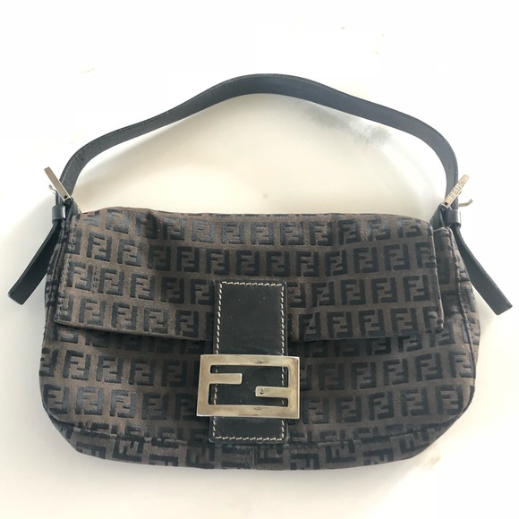 80e5560ecbcf Fendi Handbags -  AUTHENTIC FENDI  ZUCCA Baguette Bag